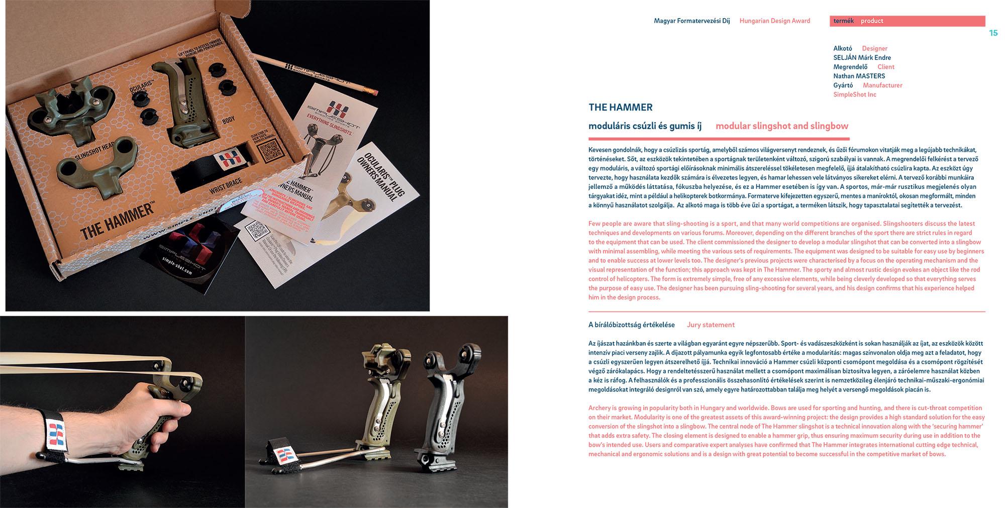 The Hammer Winner of The Hungarian Design Award